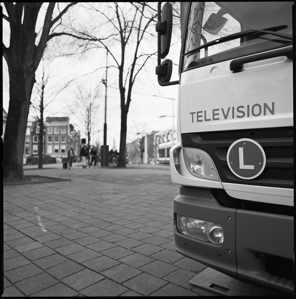 television truck