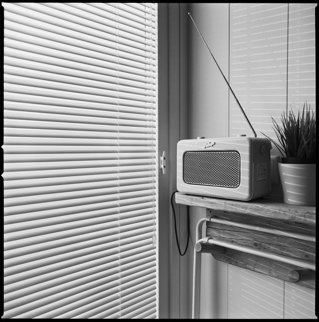 faux vintage radio