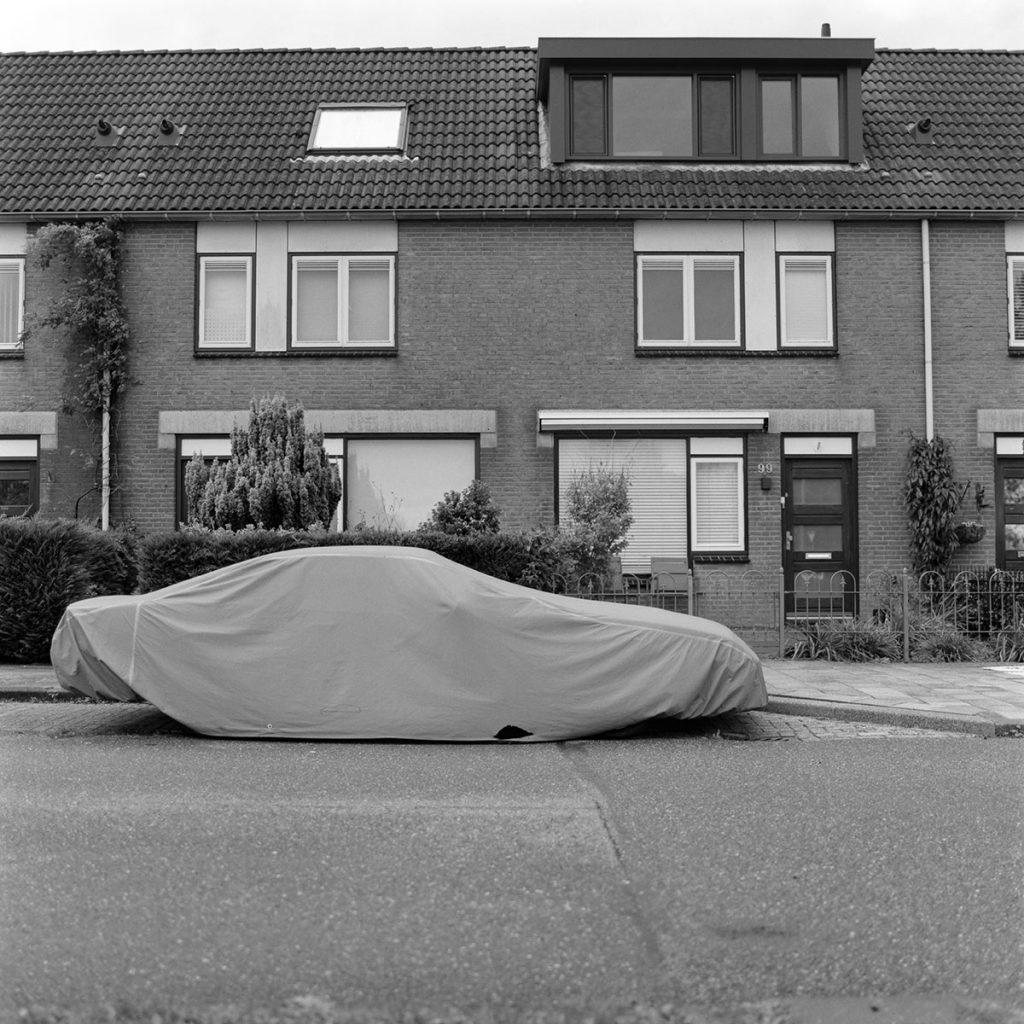 Covered Camaro